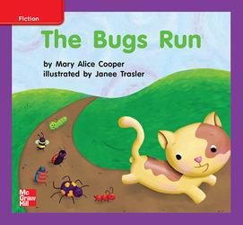 Reading Wonders, Grade K, Leveled Reader The Bugs Run, On Level, Unit 2, 6-Pack