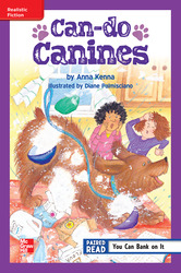 Reading Wonders, Grade 5, Leveled Reader Can-do Canines, On Level, Unit 1, 6-Pack