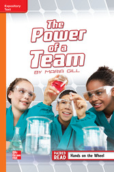 Reading Wonders, Grade 5, Leveled Reader The Power of a Team, On Level, Unit 3, 6-Pack