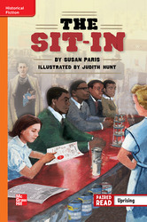 Reading Wonders, Grade 6, Leveled Reader The Sit-In, Approaching, Unit 1, 6-Pack