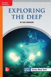 Reading Wonders, Grade 6, Leveled Reader Exploring the Deep, Approaching, Unit 1, 6-Pack