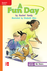 Reading Wonders, Grade 1, Leveled Reader A Fun Day, Approaching, Unit 1, 6-Pack