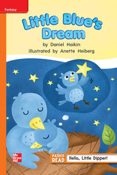 Reading Wonders, Grade 1, Leveled Reader Little Blue's Dream, Approaching, Unit 5, 6-Pack