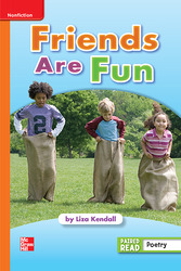 Reading Wonders, Grade 1, Leveled Reader Friends Are Fun, Approaching, Unit 1, 6-Pack