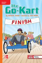 Reading Wonders, Grade 6, Leveled Reader The Go-Kart, Approaching, Unit 4, 6-Pack