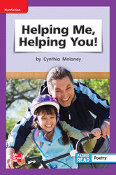 Reading Wonders, Grade 1, Leveled Reader Helping Me, Helping You!, Beyond, Unit 6, 6-Pack