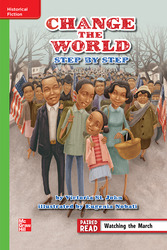 Reading Wonders, Grade 6, Leveled Reader Change the World, Step by Step, Beyond, Unit 1, 6-Pack