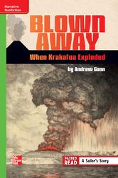 Reading Wonders, Grade 6, Leveled Reader Blown Away: When Krakatoa Exploded, ELL, Unit 6, 6-Pack