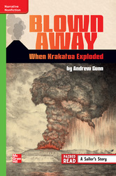 Reading Wonders, Grade 6, Leveled Reader Blown Away: When Krakatoa Exploded, On Level, Unit 6, 6-Pack