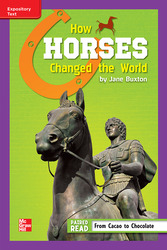 Reading Wonders, Grade 6, Leveled Reader How Horses Changed the World, On Level, Unit 5, 6-Pack
