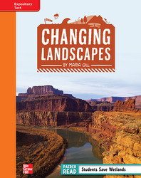 Reading Wonders, Grade 4, Leveled Reader Changing Landscapes, Approaching, Unit 1, 6-Pack