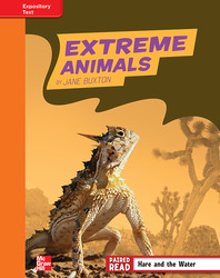 Reading Wonders, Grade 4, Leveled Reader Extreme Animals, Approaching, Unit 2, 6-Pack