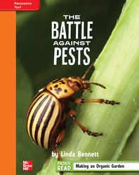 Reading Wonders, Grade 4, Leveled Reader The Battle Against Pests, Approaching, Unit 3, 6-Pack
