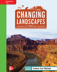Reading Wonders, Grade 4, Leveled Reader Changing Landscapes, Beyond, Unit 1, 6-Pack