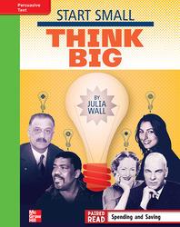 Reading Wonders, Grade 4, Leveled Reader Start Small, Think Big, Beyond Unit 1 6-Pack