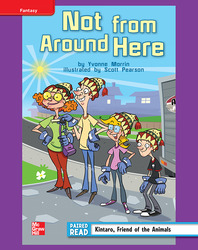 Reading Wonders, Grade 4, Leveled Reader Not from Around Here, ELL, Unit 3, 6-Pack