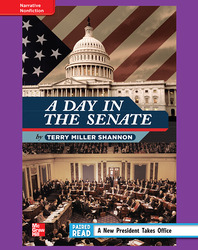 Reading Wonders, Grade 4, Leveled Reader A Day in the Senate, ELL, Unit 4, 6-Pack