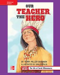 Reading Wonders, Grade 4, Leveled Reader Our Teacher, The Hero, ELL, Unit 6, 6-Pack