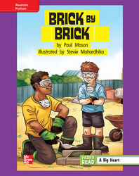 Reading Wonders, Grade 4, Leveled Reader Brick by Brick, ELL, Unit 3, 6-Pack