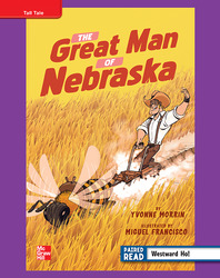 Reading Wonders, Grade 4, Leveled Reader The Great Man of Nebraska, ELL, Unit 5, 6-Pack