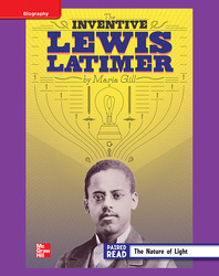 Reading Wonders, Grade 4, Leveled Reader Inventive Lewis Latimer, ELL, Unit 5, 6-Pack