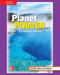 Reading Wonders, Grade 4, Leveled Reader Planet Power, ELL, Unit 6, 6-Pack