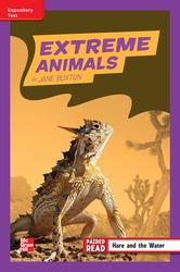 Reading Wonders, Grade 4, Leveled Reader Extreme Animals, ELL, Unit 2, 6-Pack
