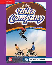 Reading Wonders, Grade 4, Leveled Reader The Bike Company, ELL, Unit 6, 6-Pack