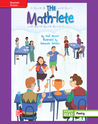 Reading Wonders, Grade 4, Leveled Reader The Math-lete, ELL, Unit 4, 6-Pack