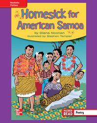 Reading Wonders, Grade 4, Leveled Reader Homesick for American Samoa, ELL, Unit 6, 6-Pack