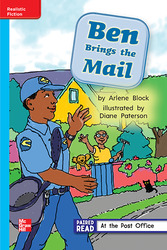 Reading Wonders, Grade 1, Leveled Reader Ben Brings the Mail, On Level, Unit 2, 6-Pack