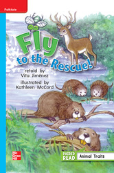 Reading Wonders, Grade 1, Leveled Reader Fly to the Rescue!, On Level, Unit 4, 6-Pack
