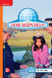 Reading Wonders, Grade 1, Leveled Reader How Maps Help, On Level, Unit 2, 6-Pack
