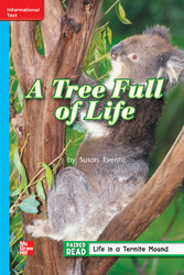 Reading Wonders, Grade 2, Leveled Reader A Tree Full of Life, Approaching, Unit 2, 6-Pack