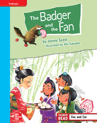 Reading Wonders, Grade 4, Leveled Reader The Badger and the Fan, On Level, Unit 2, 6-Pack