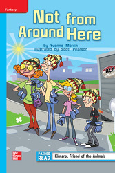 Reading Wonders, Grade 4, Leveled Reader Not from Around Here, On Level, Unit 3, 6-Pack