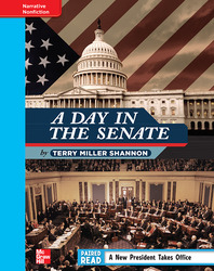Reading Wonders, Grade 4, Leveled Reader A Day in the Senate, On Level, Unit 4, 6-Pack