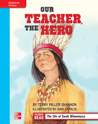 Reading Wonders, Grade 4, Leveled Reader Our Teacher, The Hero, On Level, Unit 6, 6-Pack