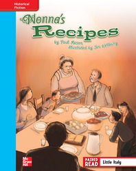 Reading Wonders, Grade 4, Leveled Reader Nonna's Recipes, On Level, Unit 6, 6-Pack