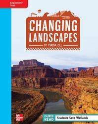 Reading Wonders, Grade 4, Leveled Reader Changing Landscapes, On Level, Unit 1, 6-Pack