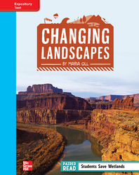 Reading Wonders, Grade 4, Leveled Reader Changing Landscapes, On Level, Unit 1, 6-Pack