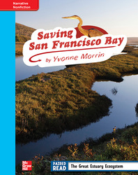Reading Wonders, Grade 4, Leveled Reader Saving San Francisco Bay, On Level, Unit 2, 6-Pack