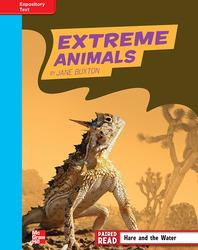Reading Wonders, Grade 4, Leveled Reader Extreme Animals, On Level, Unit 2, 6-Pack