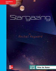 Reading Wonders, Grade 4, Leveled Reader Stargazing, On Level, Unit 4, 6-Pack
