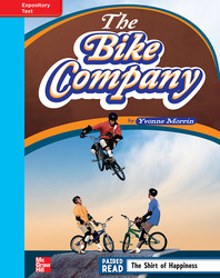 Reading Wonders, Grade 4, Leveled Reader The Bike Company, On Level, Unit 6, 6-Pack