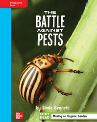Reading Wonders, Grade 4, Leveled Reader The Battle Against Pests, On Level, Unit 3, 6-Pack