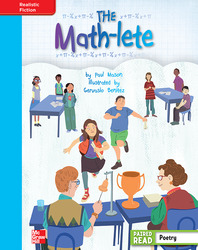 Reading Wonders, Grade 4, Leveled Reader The Math-lete, On Level, Unit 4, 6-Pack
