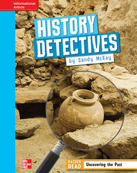 Reading Wonders, Grade 4, Leveled Reader History Detectives, On Level, Unit 5, 6-Pack