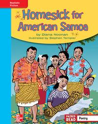 Reading Wonders, Grade 4, Leveled Reader Homesick for American Samoa, On Level, Unit 6, 6-Pack