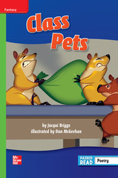 Reading Wonders, Grade 2, Leveled Reader Class Pets, Beyond, Unit 1, 6-Pack